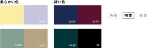 色の効果_柔らかい色_硬い色