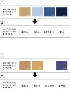 work3写真と色を結びつける